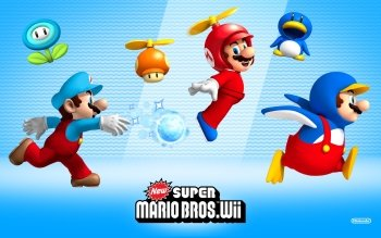 Video Game - New Super Mario Bros. Wii Wallpapers and Backgrounds ID : 328921