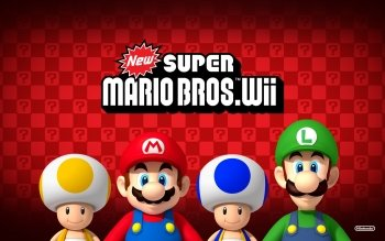 Video Game - New Super Mario Bros. Wii Wallpapers and Backgrounds ID : 328922