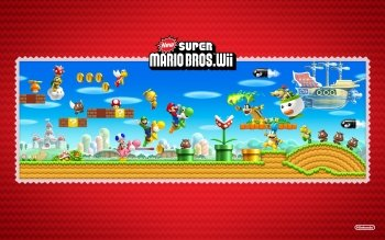 Video Game - New Super Mario Bros. Wii Wallpapers and Backgrounds ID : 328923