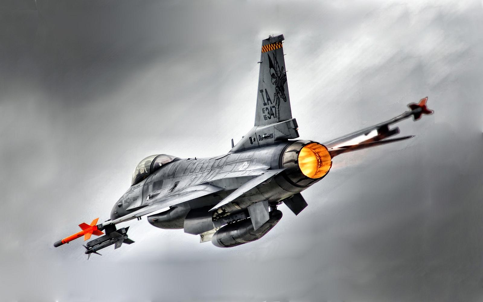 General Dynamics F 16 Fighting Falcon Hd Wallpaper: General Dynamics F-16 Fighting Falcon Wallpaper And