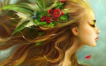 Fantasy - Women Wallpapers and Backgrounds ID : 329100