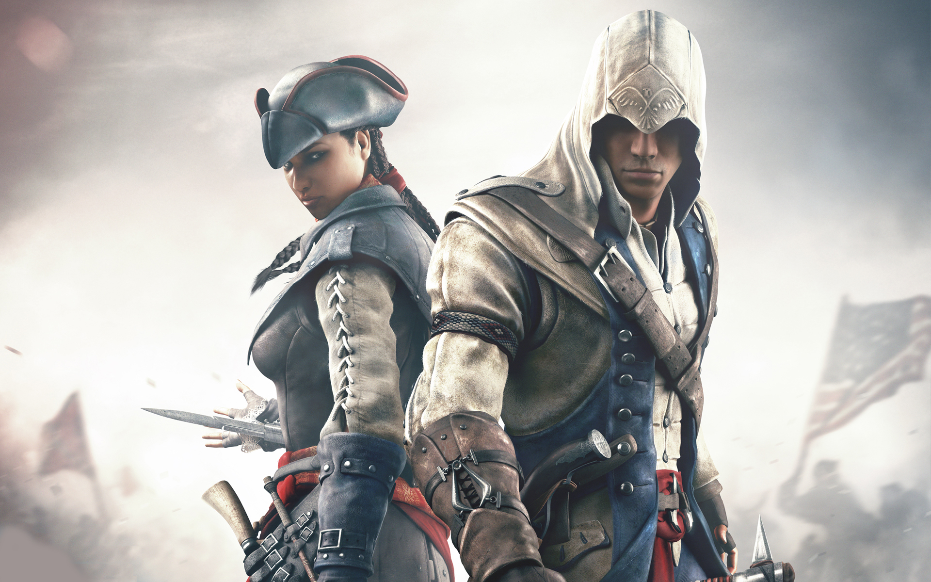 Assassins creed iii full hd wallpaper and background image video game assassins creed iii wallpaper voltagebd Gallery
