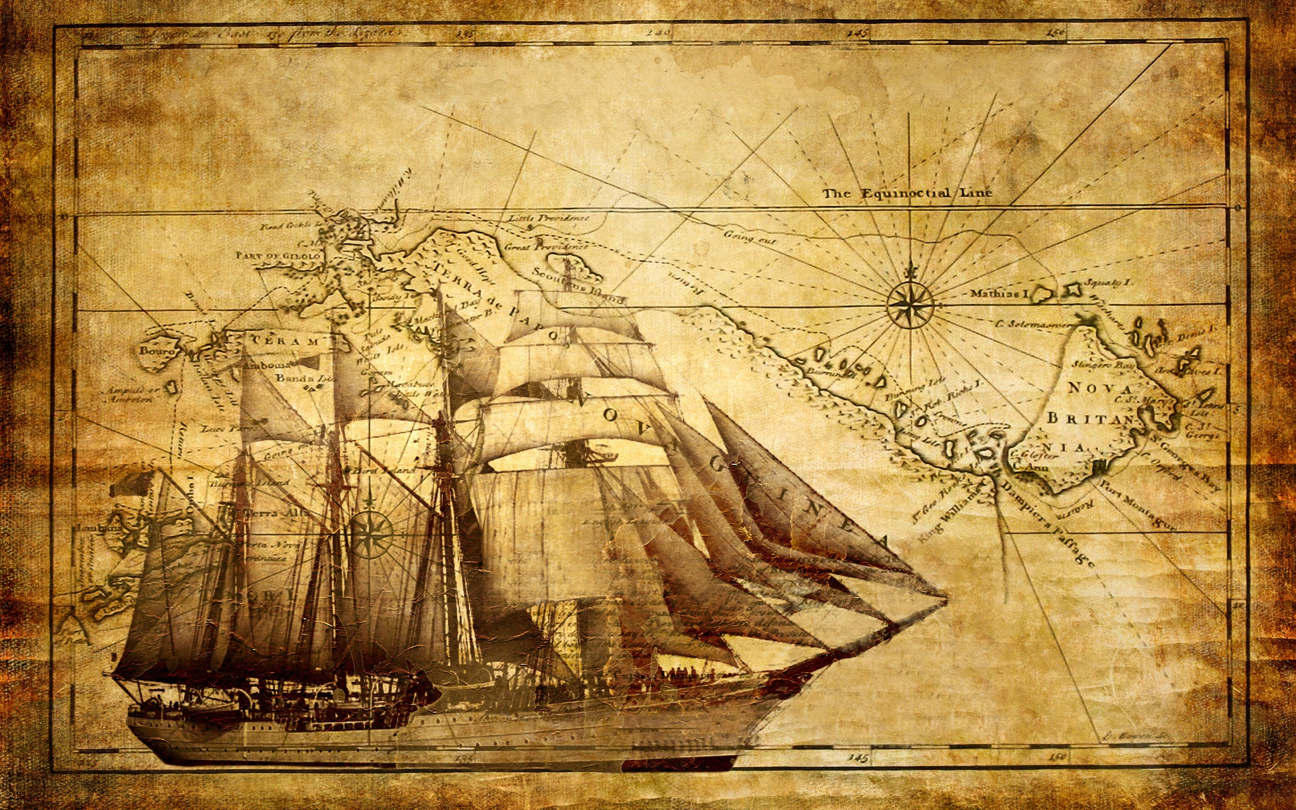 Ship hd wallpaper background image 2560x1600 id 330650 wallpaper abyss - Pirate background ...