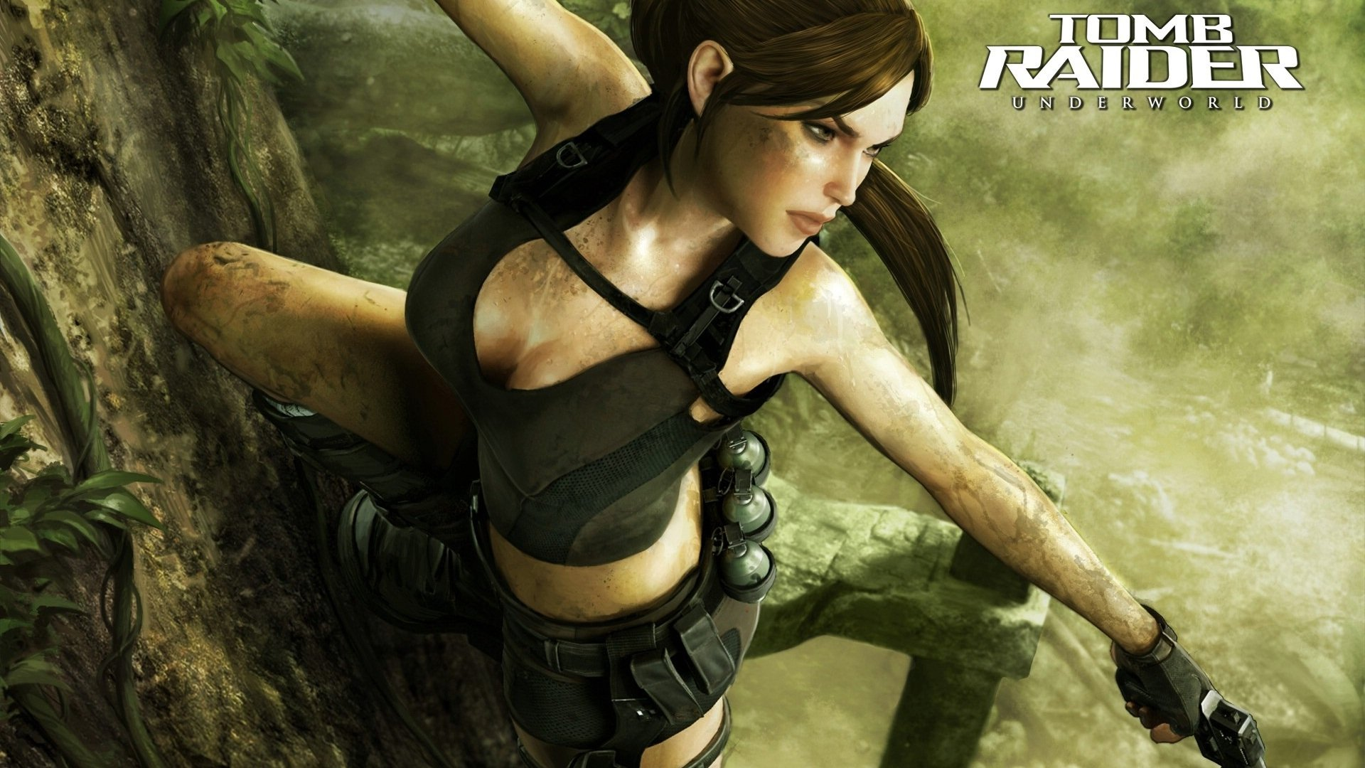 41 Tomb Raider Underworld Hd Wallpapers Background Images