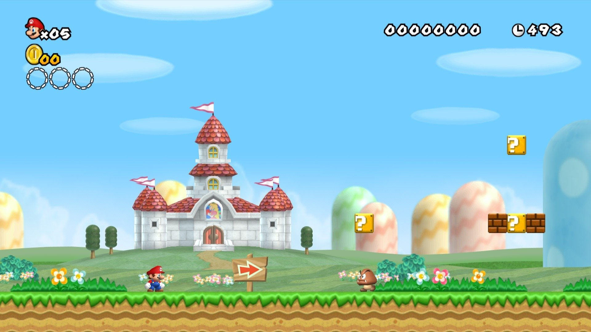 Video Game - New Super Mario Bros. Wii  Wallpaper