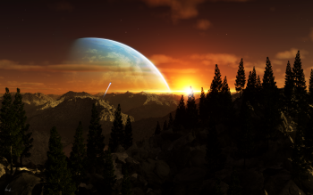 Sci Fi - Planet Rise Wallpapers and Backgrounds ID : 330182