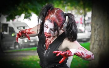Dark - Zombie Wallpapers and Backgrounds ID : 330471