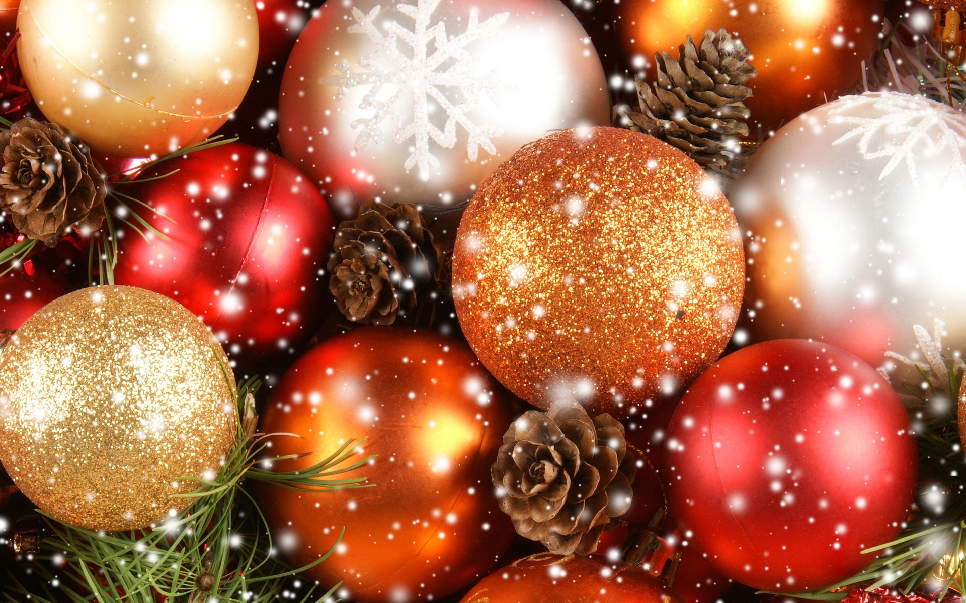 christmas ornaments wallpaper 8026 - photo #1