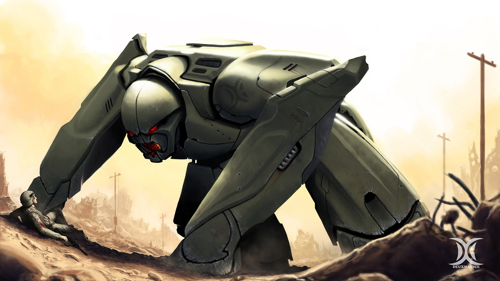 robot full hd wallpaper and background 1920x1080 id331578