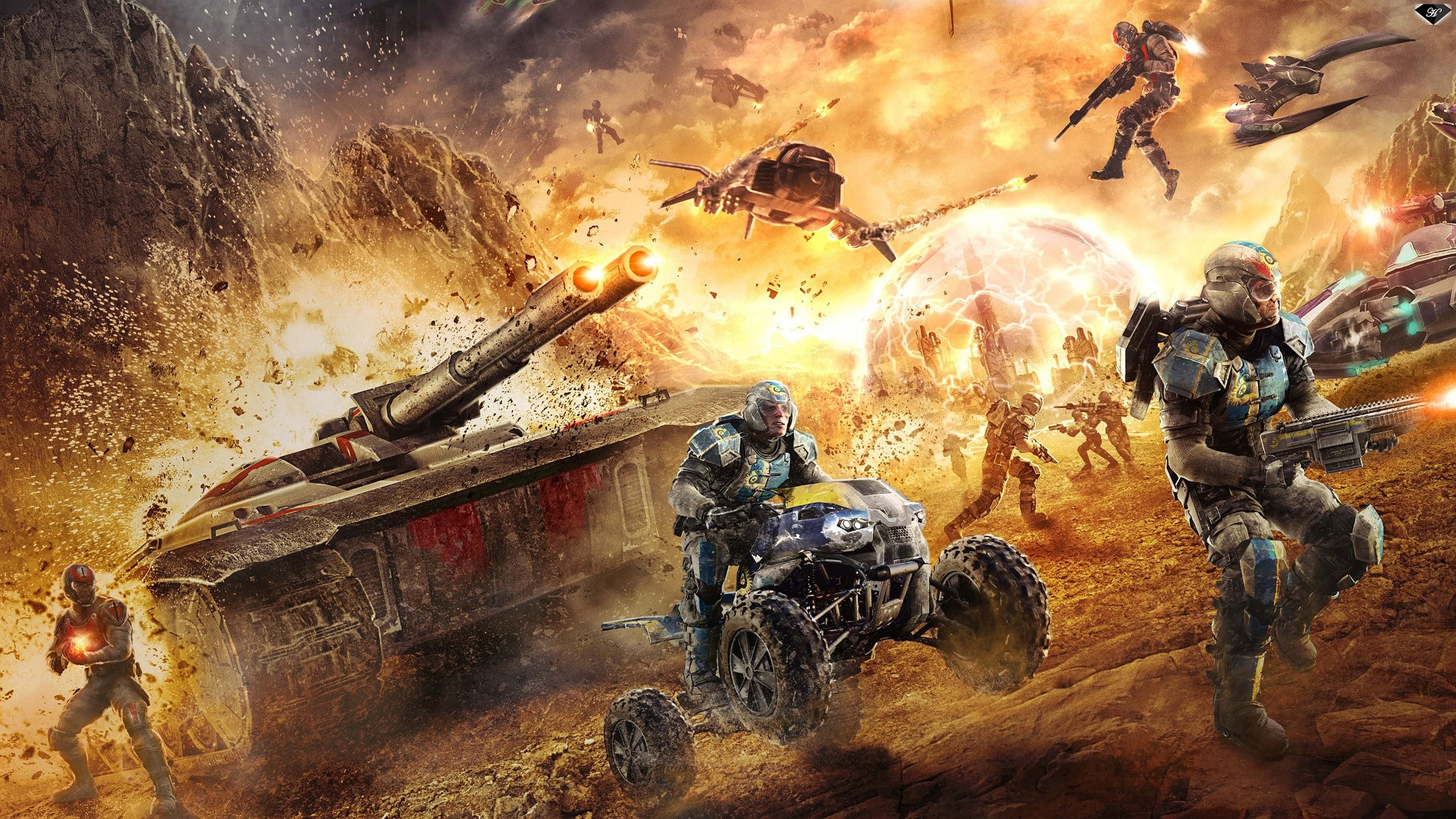 Planetside 2 Computer Wallpapers, Desktop Backgrounds | 2560x1440 | ID ...