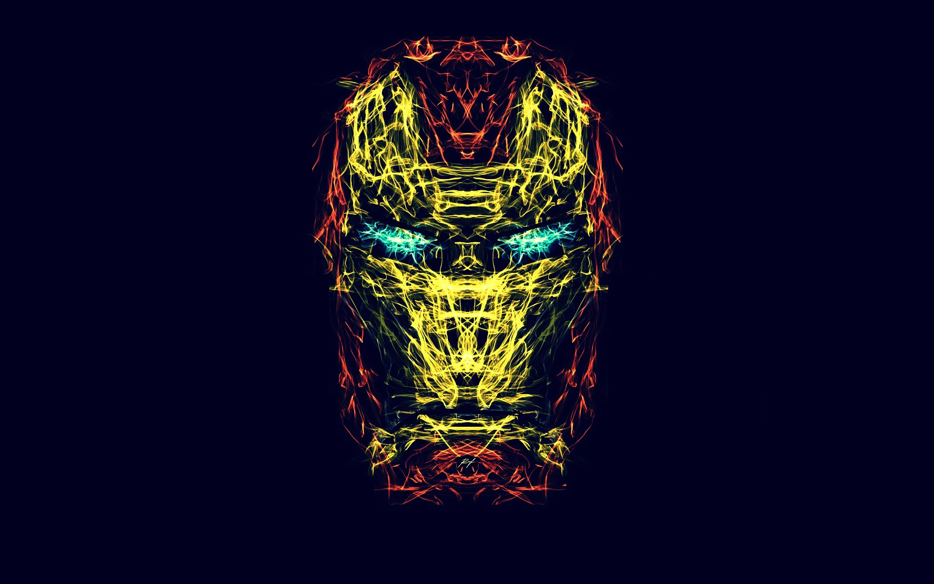 comics iron man generative wallpaper