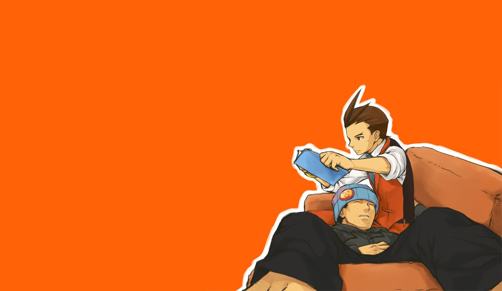 Phoenix Wright Ace Attorney Full HD Wallpaper And Background Image
