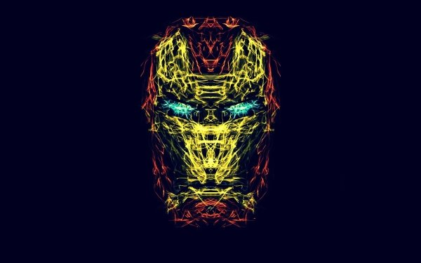 Comics Iron Man Generative HD Wallpaper | Background Image