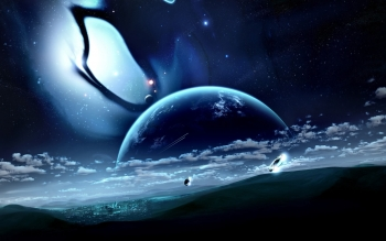 Sci Fi - Planet Rise Wallpapers and Backgrounds ID : 332224