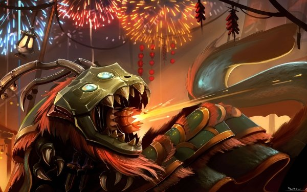 Video Game League Of Legends Kog'Maw HD Wallpaper | Background Image
