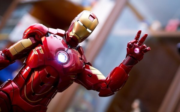 Man Made Toy Iron Man Figurine HD Wallpaper | Background Image