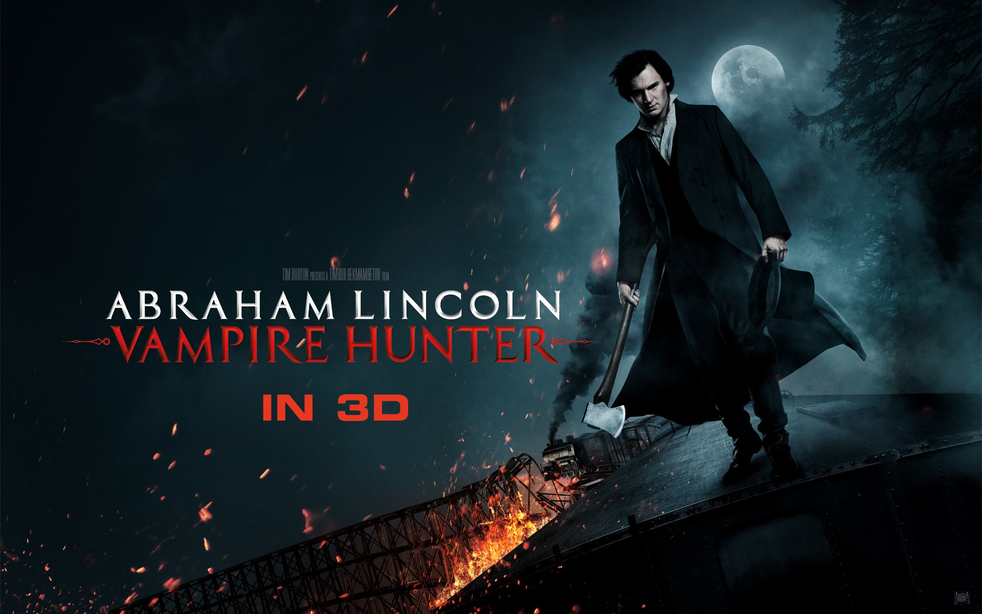 Abraham Lincoln Vampire Hunter Full Hd Wallpaper And
