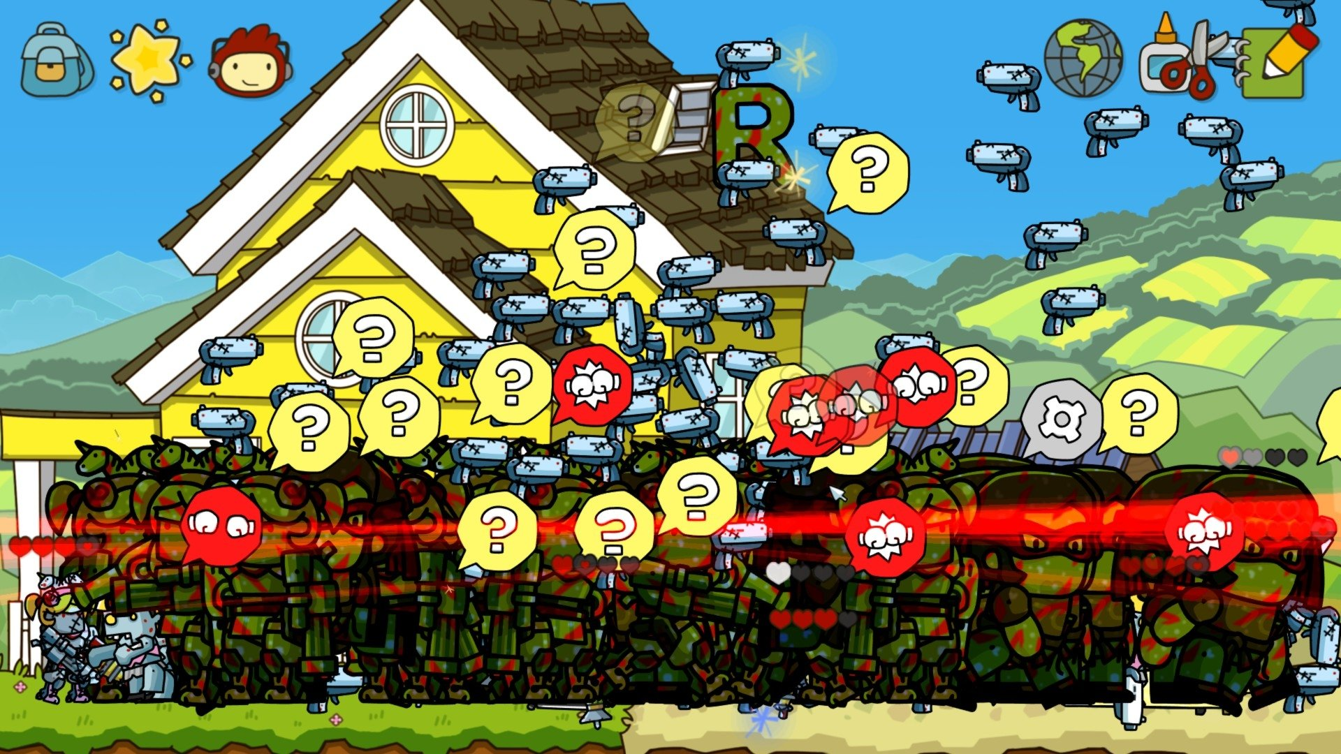 32 Scribblenauts Unlimited HD Wallpapers | Background Images
