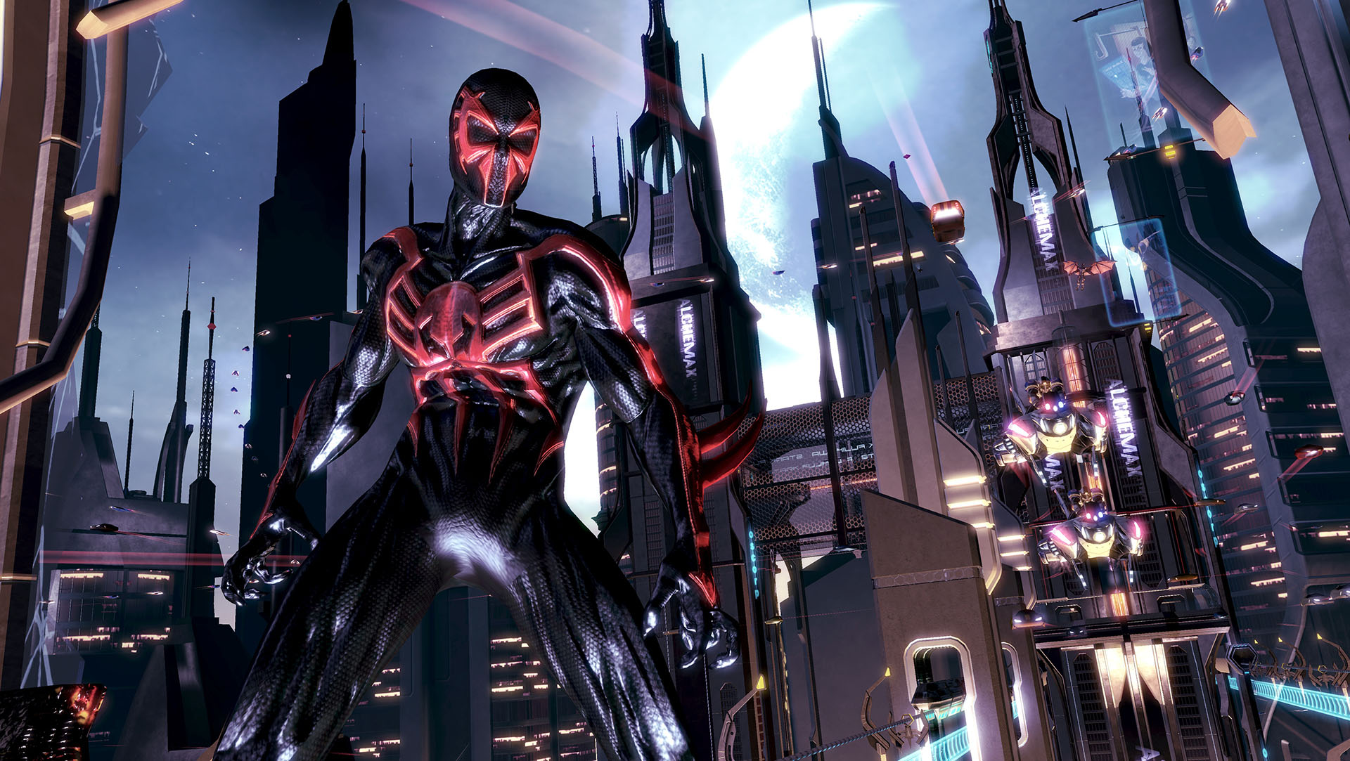 10 Best Spider Man 2099 Wallpaper Full Hd 1080p For Pc: Spider-Man: Shattered Dimensions Full HD Wallpaper And