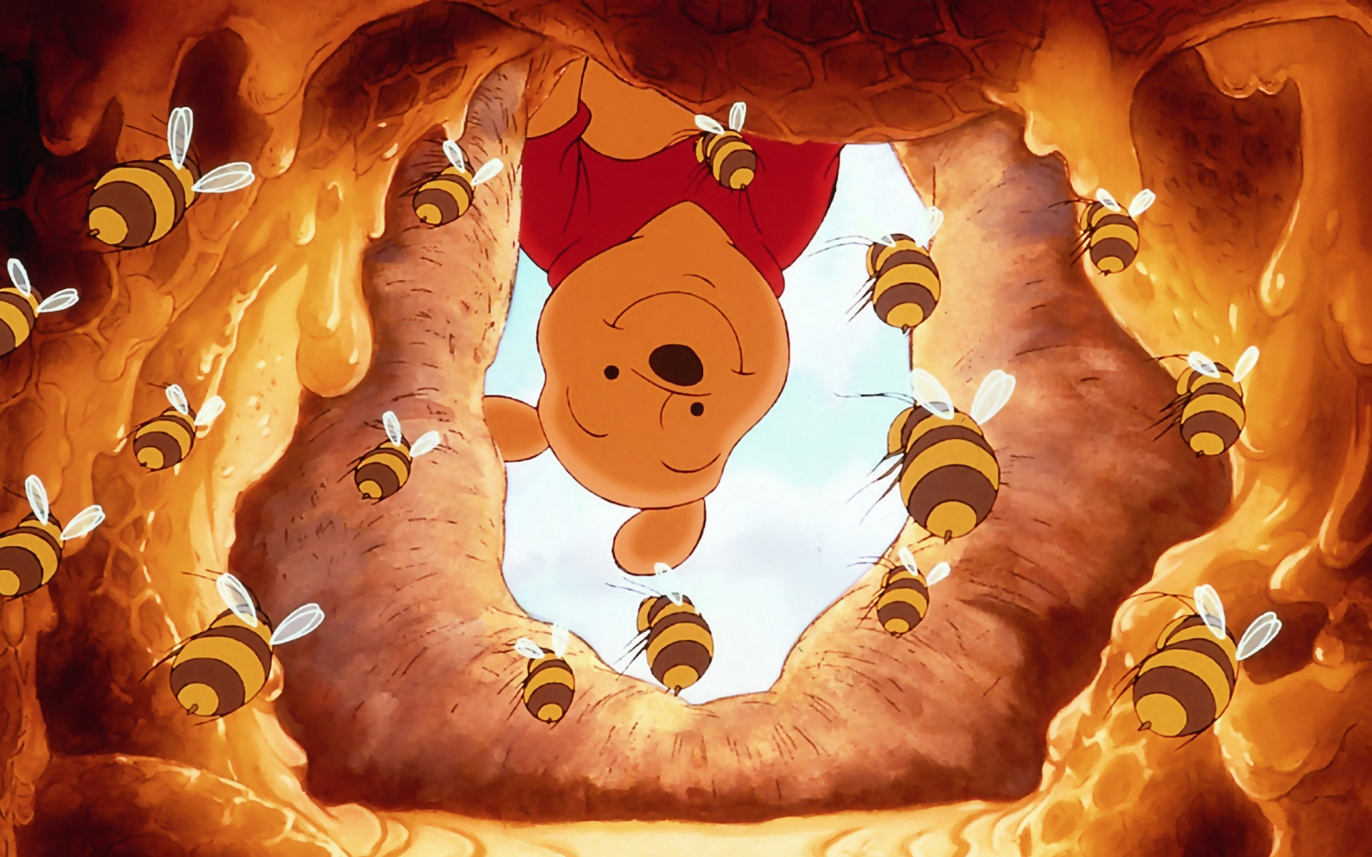 Winnie the pooh full hd wallpaper and background image 1920x1200 tv show winnie the pooh wallpaper download voltagebd Gallery