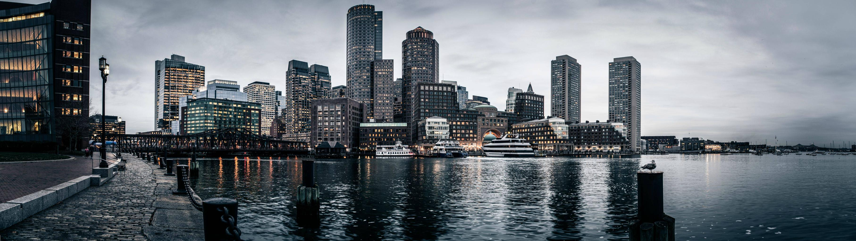 city wallpaper and background image | 3628x1022 | id:336285
