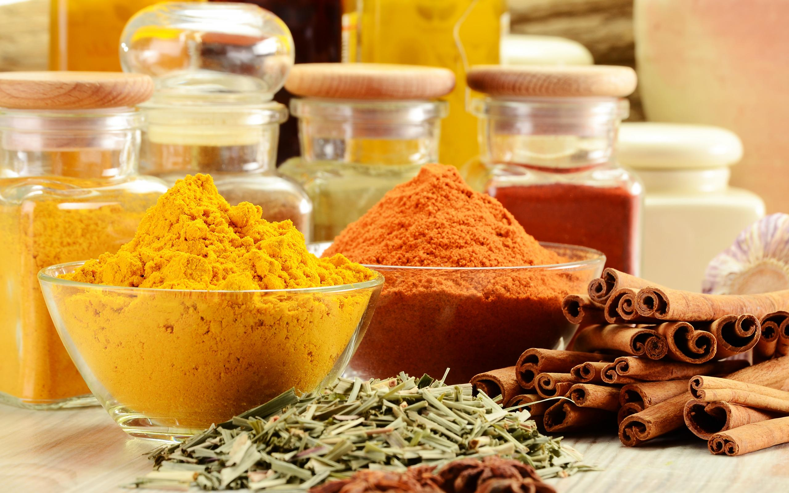 Herbs and spices computer wallpapers desktop backgrounds for 7 spices asian cuisine