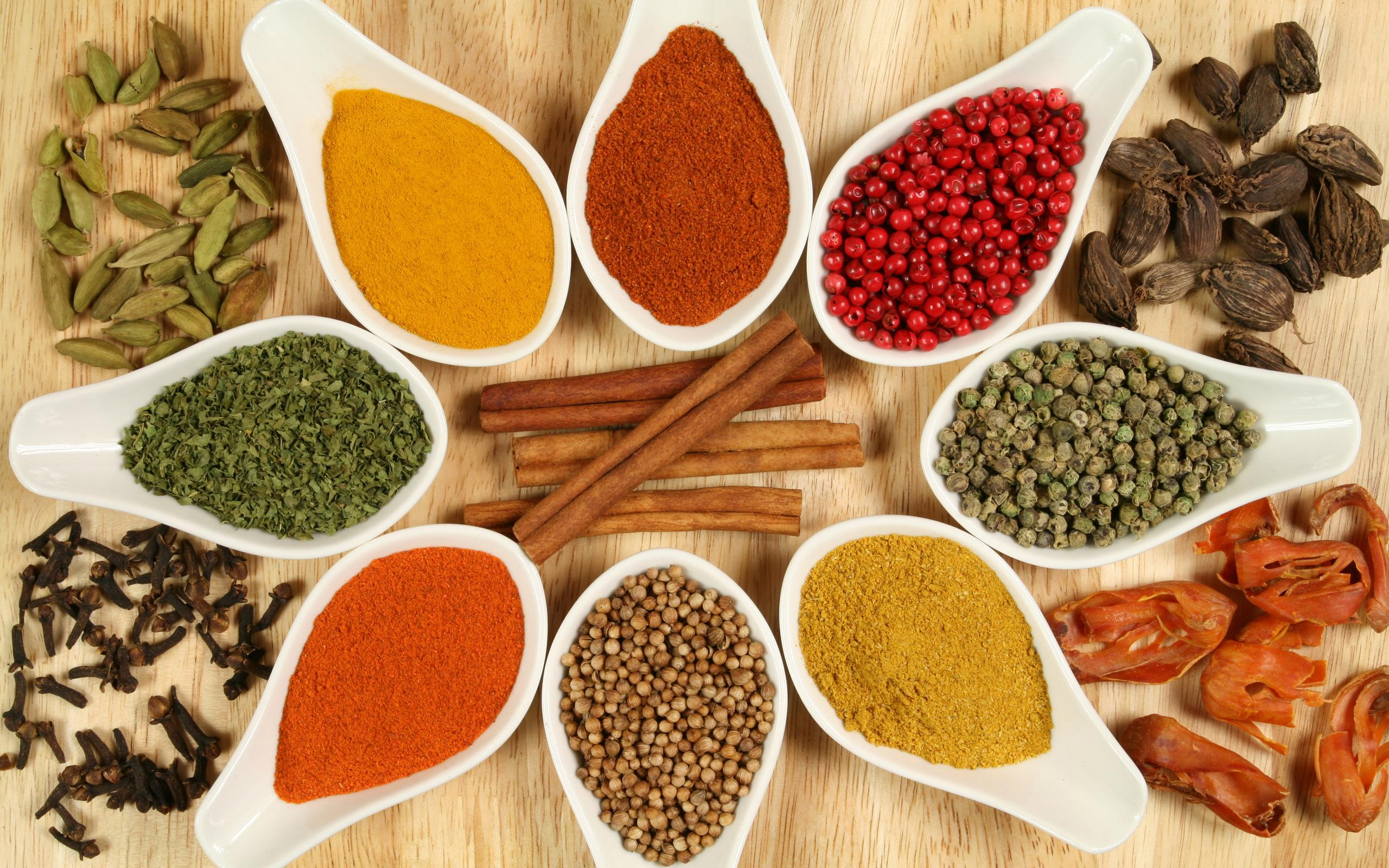 Herbs and Spices HD Wallpaper | Background Image | 2560x1600 | ID ...