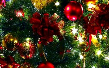 Holiday Christmas Christmas Ornaments HD Wallpaper | Background Image