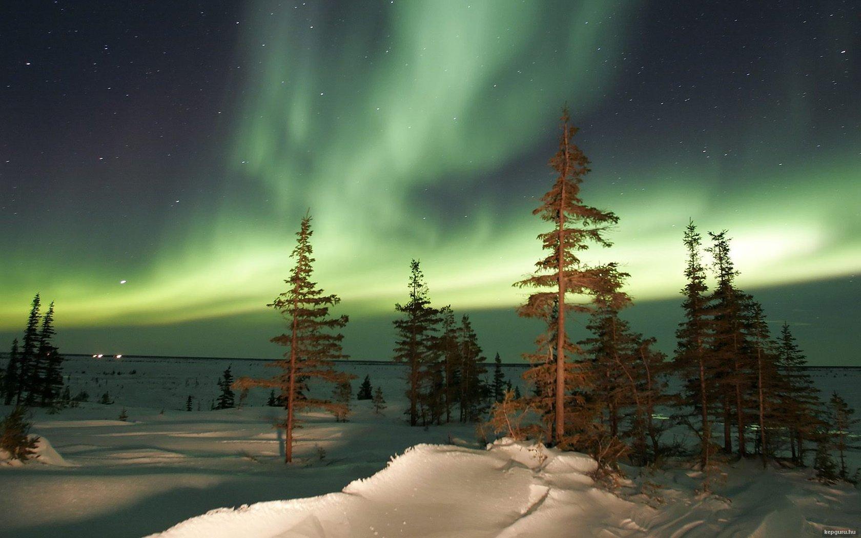 Aurora boreale sfondo and sfondi 1680x1050 id 337171 for Sfondi aurora boreale