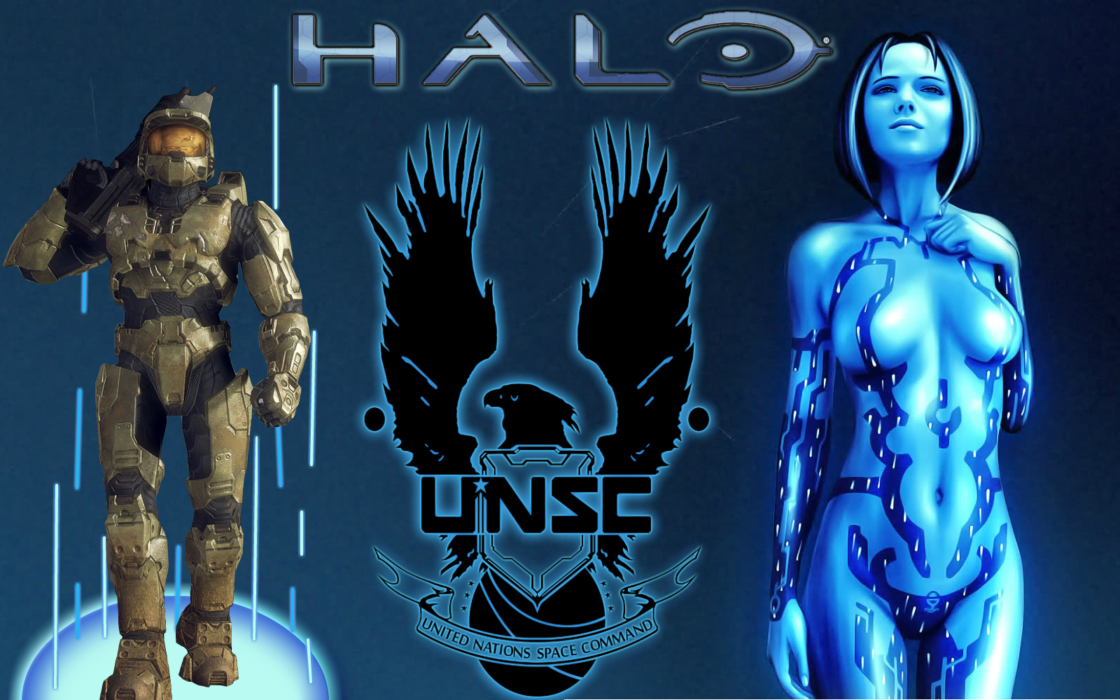 Video Game - Halo  -  Unsc -  Cortana Wallpaper