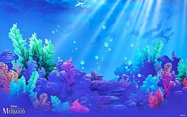 Películas La Sirenita (1989) La Sirenita Sea Océano Fondo de pantalla HD   Fondo de Escritorio