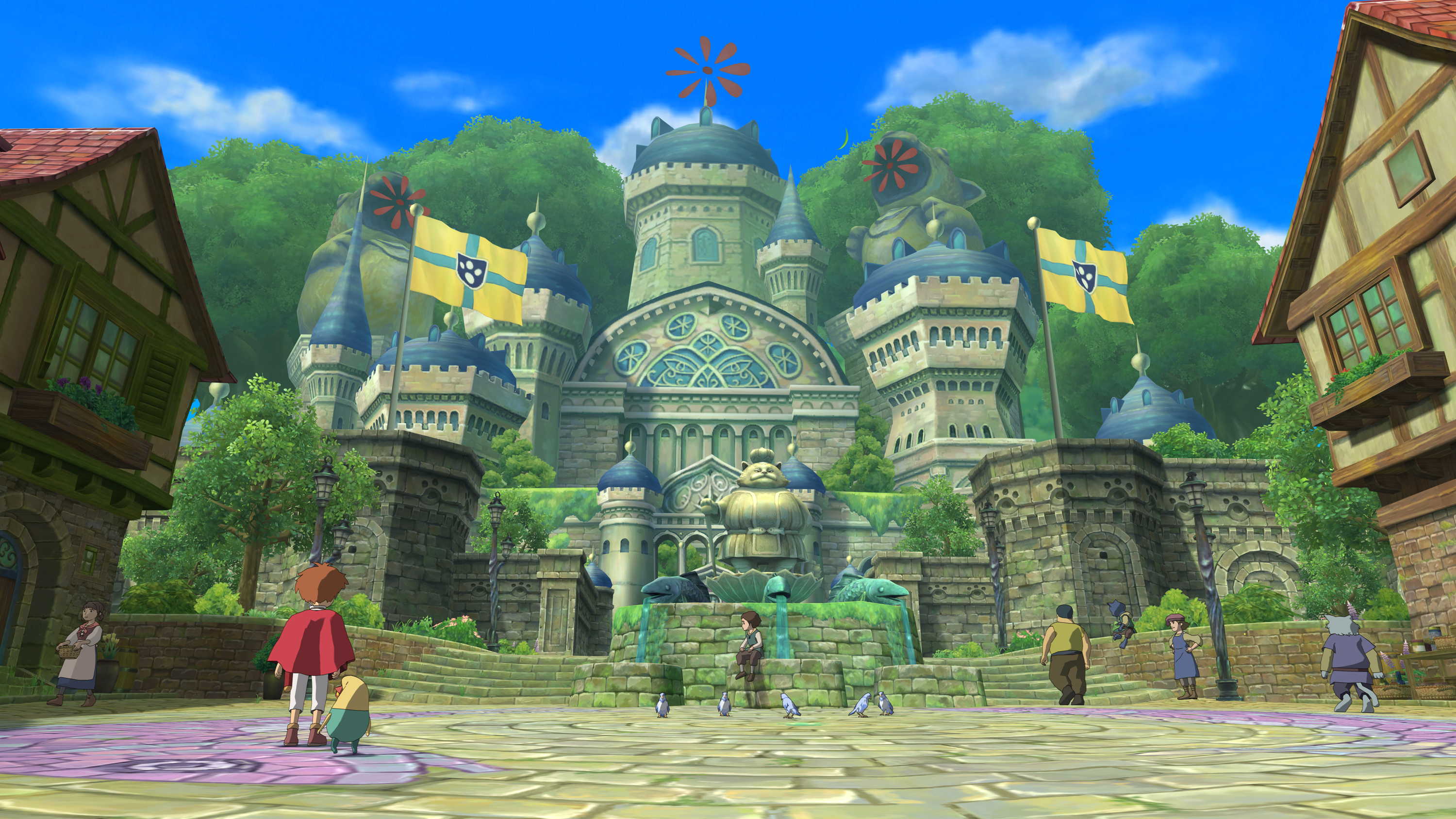 18 Ni No Kuni Hd Wallpapers Background Images Wallpaper Abyss