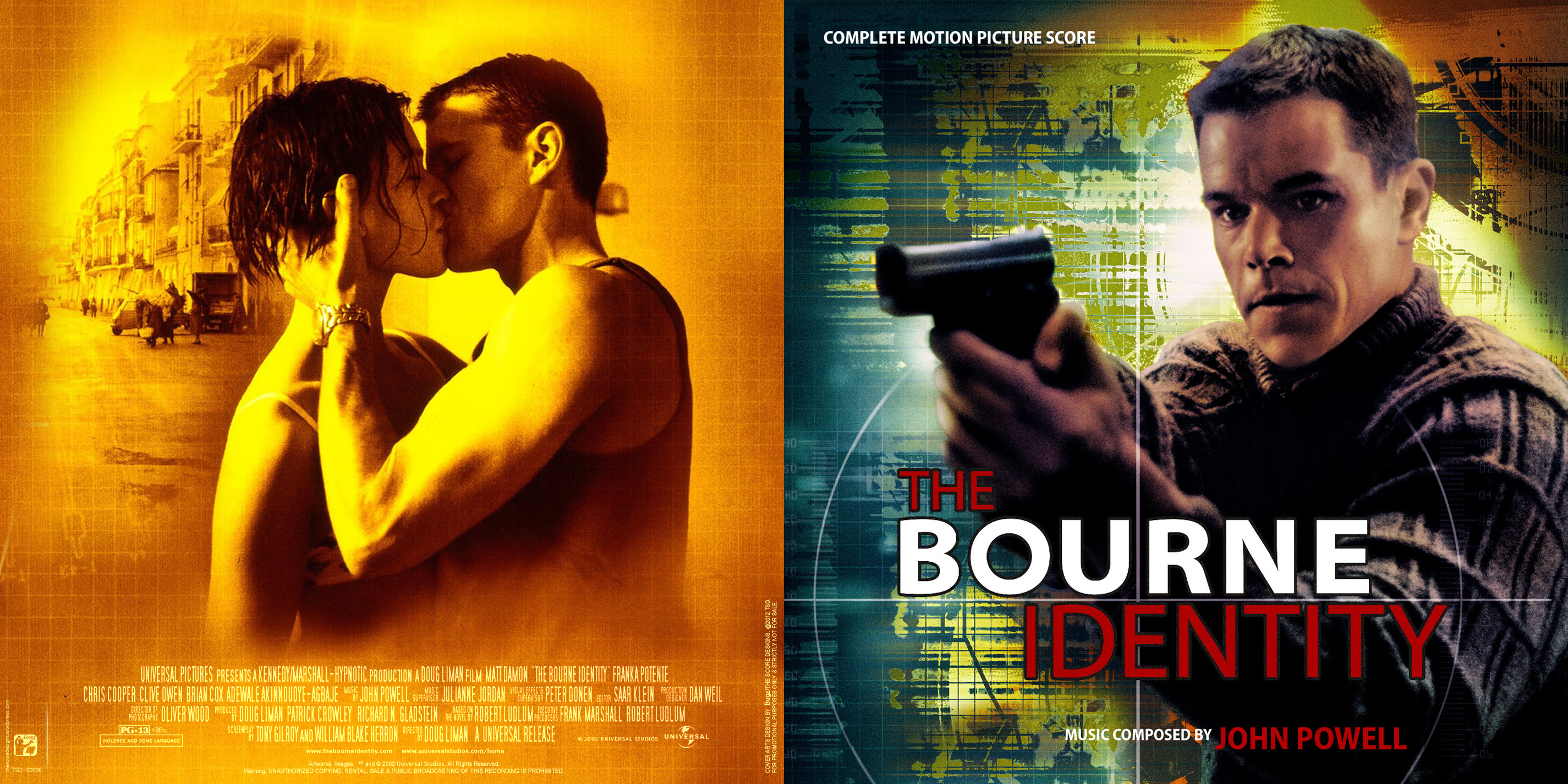 5 The Bourne Identity ...