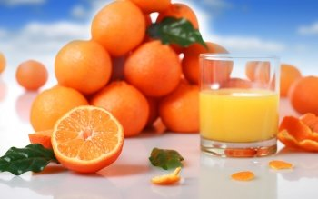 Food - Orange Wallpapers and Backgrounds ID : 338540
