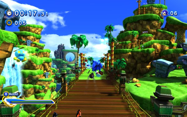 Video Game Sonic Generations Sonic Sonic the Hedgehog Omochao HD Wallpaper | Background Image