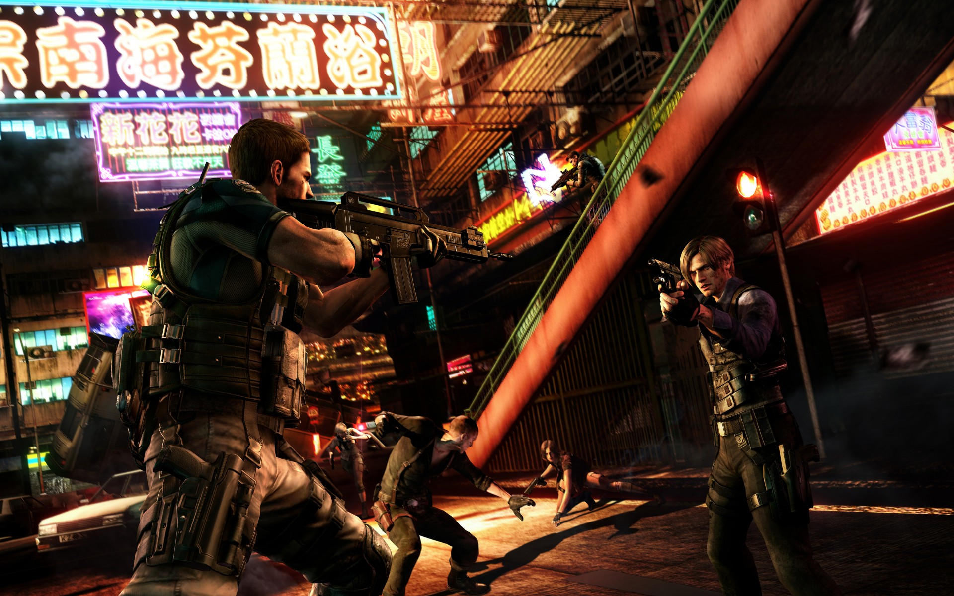 Resident Evil 6 Hd Wallpaper Background Image 1920x1200 Id