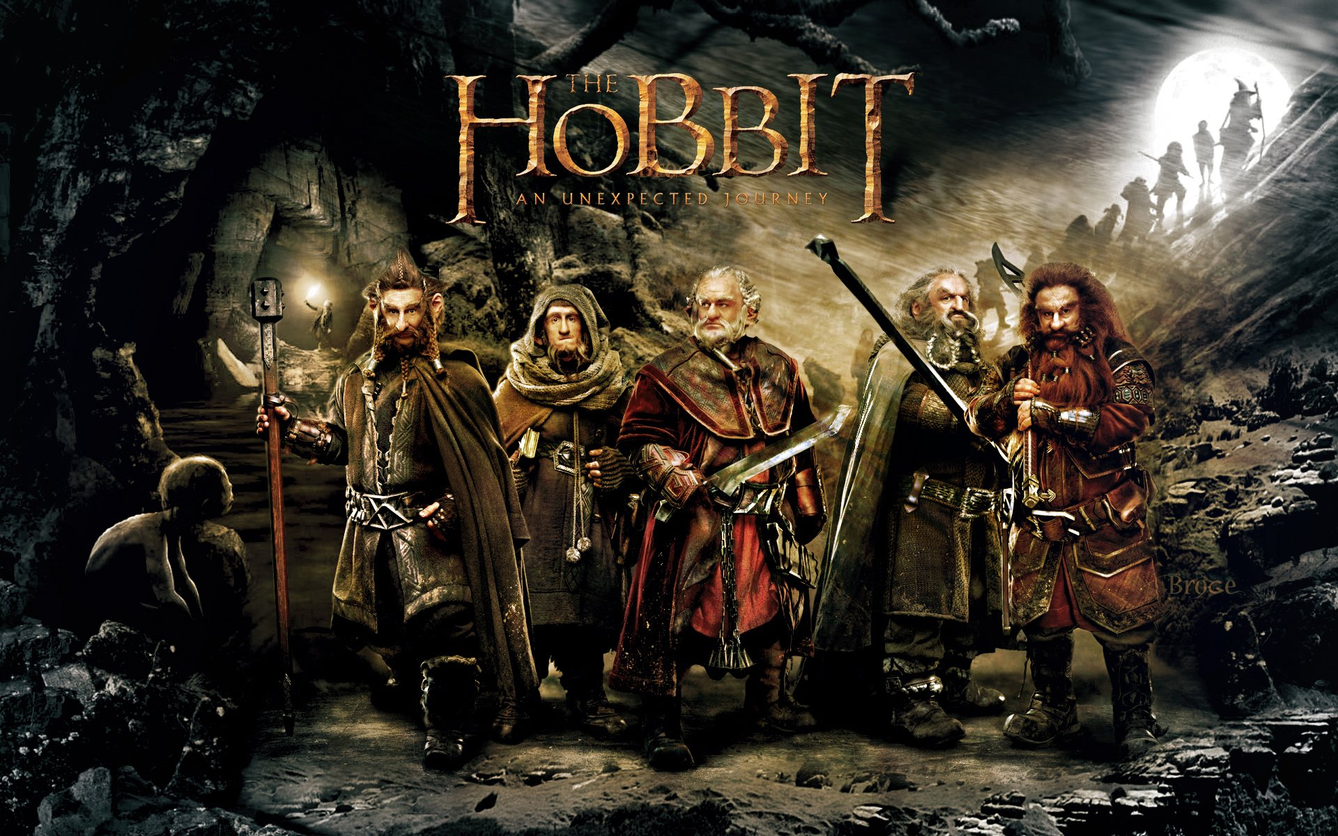 The Hobbit An Unexpected Journey HD desktop wallpaper Widescreen