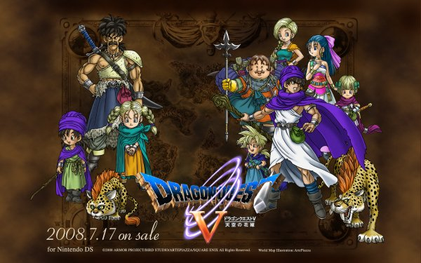 Video Game - dragon quest v Wallpapers and Backgrounds