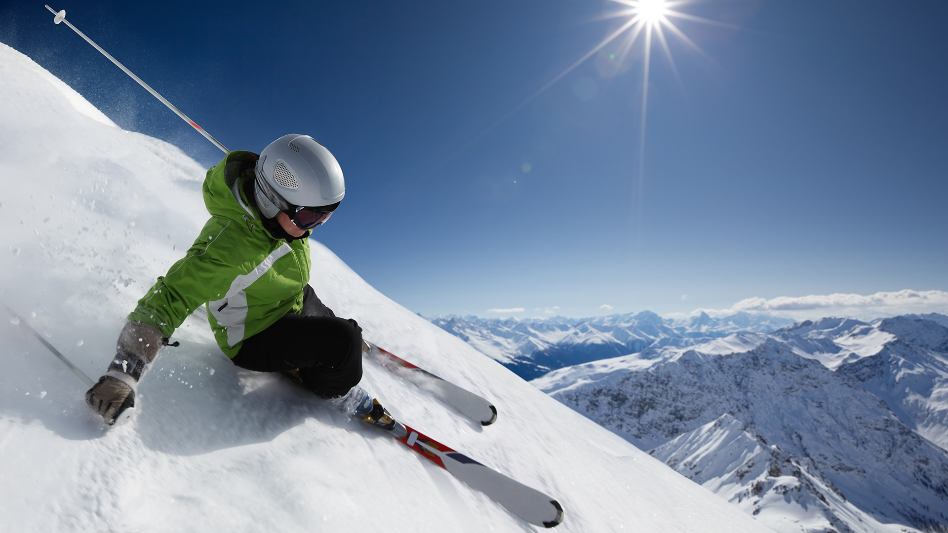 Skiing Full HD Wallpaper And Background Image