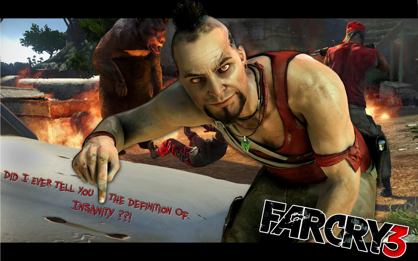 Vaas Insanity Wallpaper And Background Image 1680x1050 Id 343324 Wallpaper Abyss