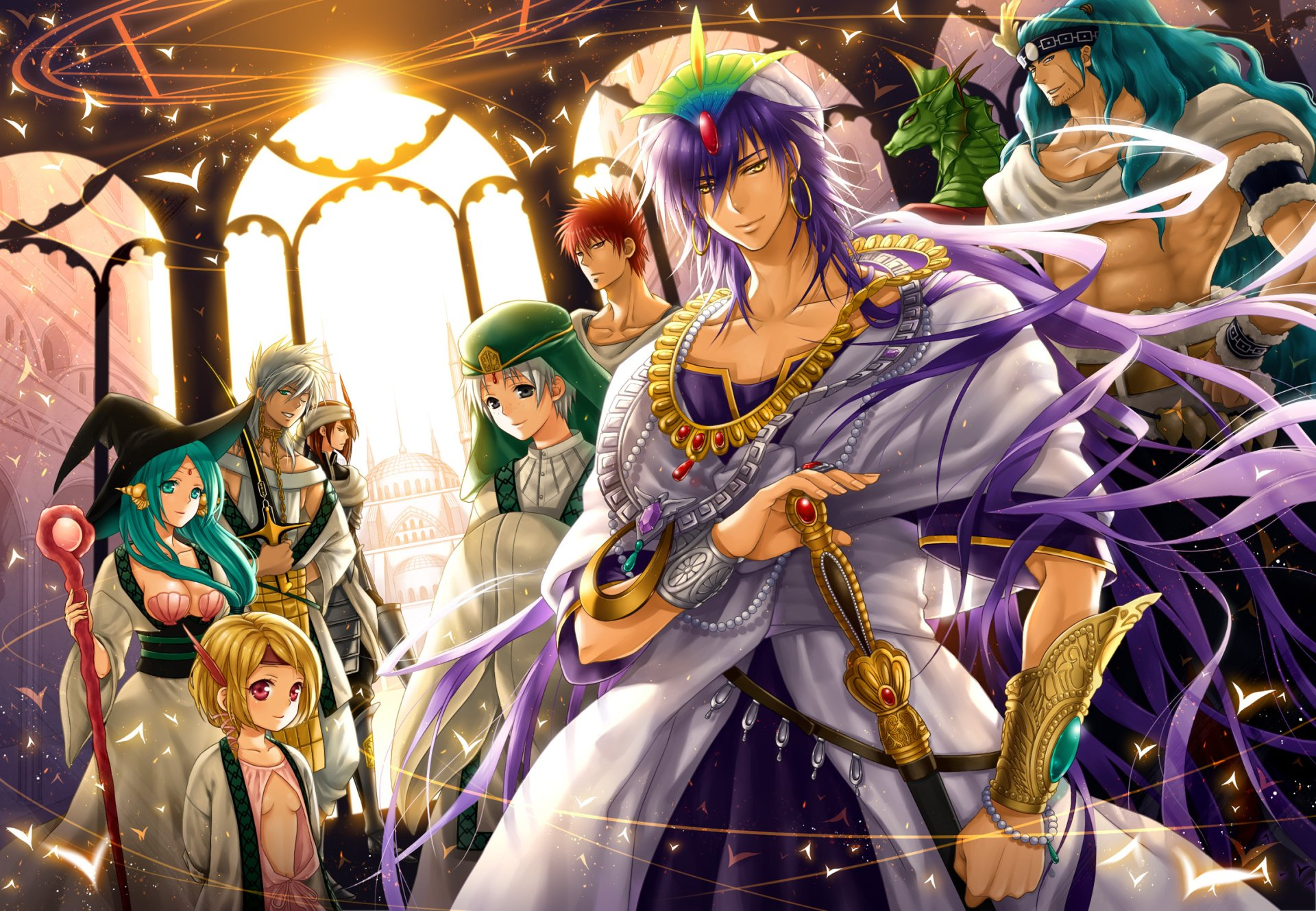 95 Magi The Labyrinth Of Magic Hd Wallpapers Background Images Wallpaper Abyss