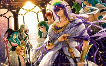 Anime - Magi: The Labyrinth Of Magic Wallpapers and Backgrounds ID : 344713