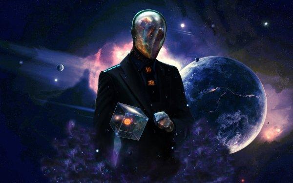 Sci Fi Men Spaceman HD Wallpaper | Background Image