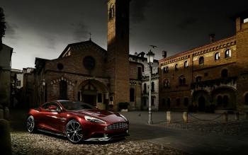 Транспортные Средства - Aston Martin Vanquish Wallpapers and Backgrounds ID : 345617