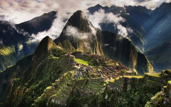 Man Made Machu Picchu Monuments HD Wallpaper   Background Image
