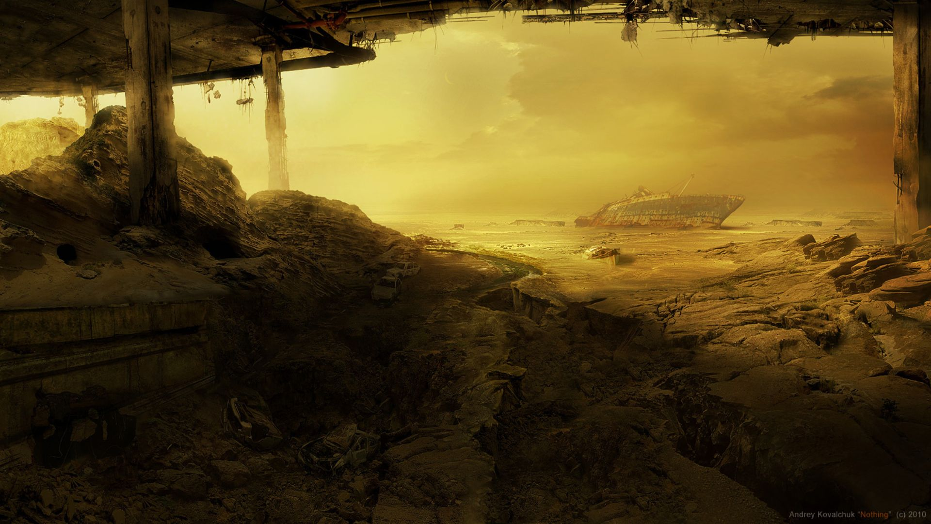 Sci Fi - Post Apocalyptic Wallpaper & Post Apocalyptic Full HD Wallpaper and Background Image | 1920x1080 ...