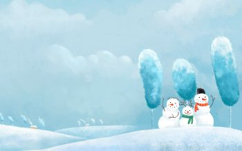 Artistic - Snowman Wallpapers and Backgrounds ID : 347208