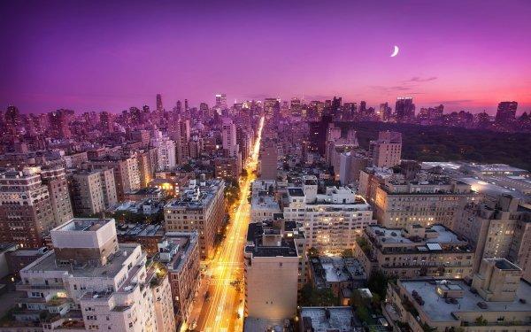 Man Made City Cities Manhattan New York Central Park HD Wallpaper | Background Image