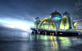 Religioso - Malacca Straits Mosque Wallpapers and Backgrounds ID : 348683