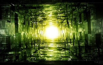 Abstract - Green Wallpapers and Backgrounds ID : 348688